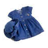 closeout girls denim dress