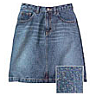 wholesale girls denim skirt
