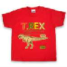 closeout kids t rex tee