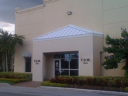 TDW Building - The Discount Warehouse, at 5501 N Nob Hill Rd, Sunrise FL 33351