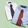 Men's designer shirts with matching ties