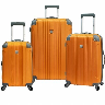 closeout orange luggage