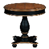 closeout pedestal table