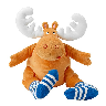 closeout plush moose doll