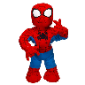 closeout spiderman doll