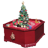 closeout xmass music box
