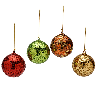 closeout xmass ornaments