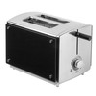 discount black sided toaster