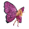 closeout butterfly fairy doll
