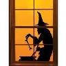 closeout halloween window decor
