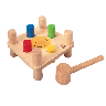 closeout hammer pegs toy