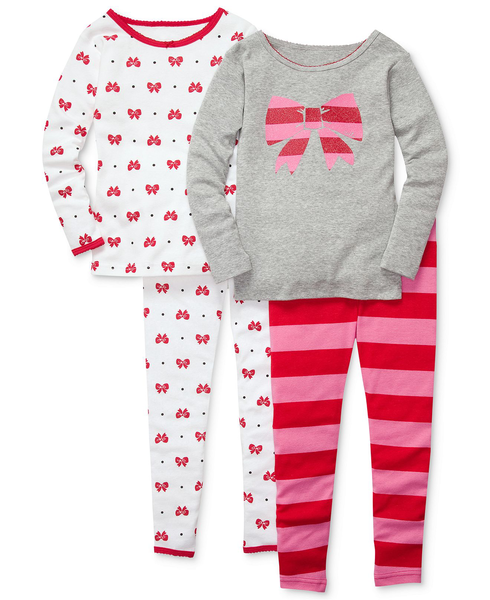 image of wholesale 4 piece pjs