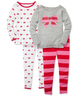 image of wholesale closeout 4 piece pjs
