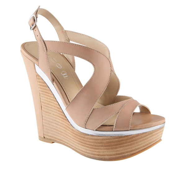 image of wholesale closeout Aldo Forcade Wedge