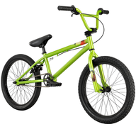salvage new and return wholesale bmx green bike