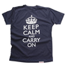 image of wholesale Keep Calm and Carry On Mens T Shirt