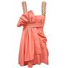 wholesale Pink Beaded Short Junior Cocktail Dress
