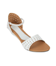 image of wholesale Sindhi White Sandals