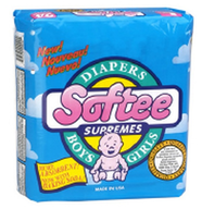 salvage new and return wholesale softee diapers