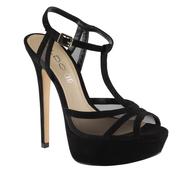 discount aldo black heels