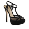 image of wholesale closeout aldo black heels