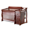 image of wholesale closeout amber baby crib