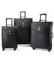 image of liquidation wholesale american tourister pop 3 piece spinner luggage set