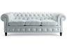 image of liquidation wholesale baby blue sofa