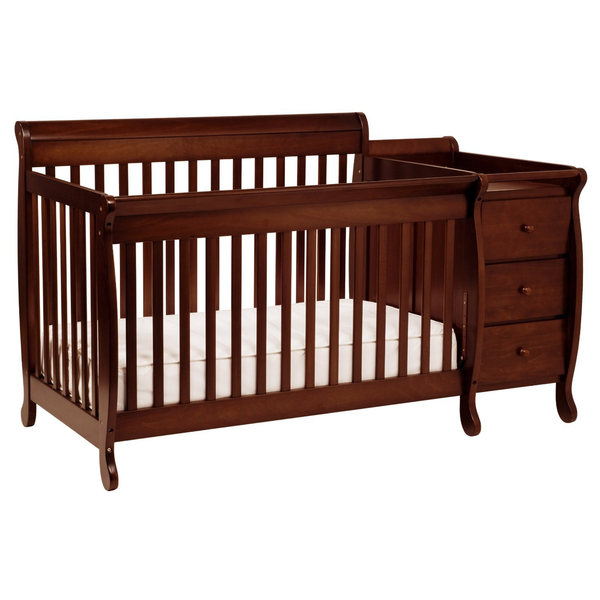 image of liquidation wholesale baby crib changing table