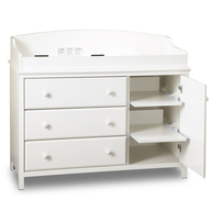 salvage new and return wholesale baby furniture white changing table