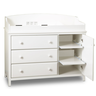 image of wholesale baby furniture white changing table