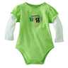 image of wholesale baby neon green shirt