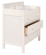 discount wholesale baby furniture white changing table
