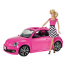 wholesale barbie with pink car