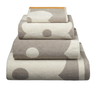 image of wholesale closeout bath towel dots
