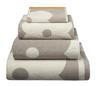 image of wholesale closeout bath towel dots