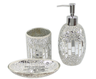 image of wholesale closeout bathroom acc silver