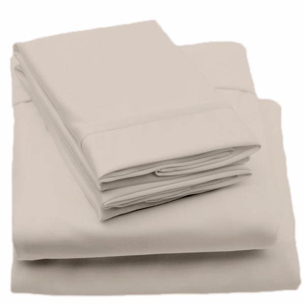 image of wholesale beige sheets bed