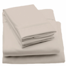 image of wholesale closeout beige sheets bed