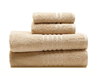 image of wholesale closeout beige towel set