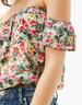image of wholesale closeout bershka print top