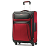 image of wholesale closeout black and red luggage