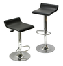 image of wholesale closeout black bar stools