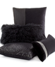 image of wholesale black decorative pillows
