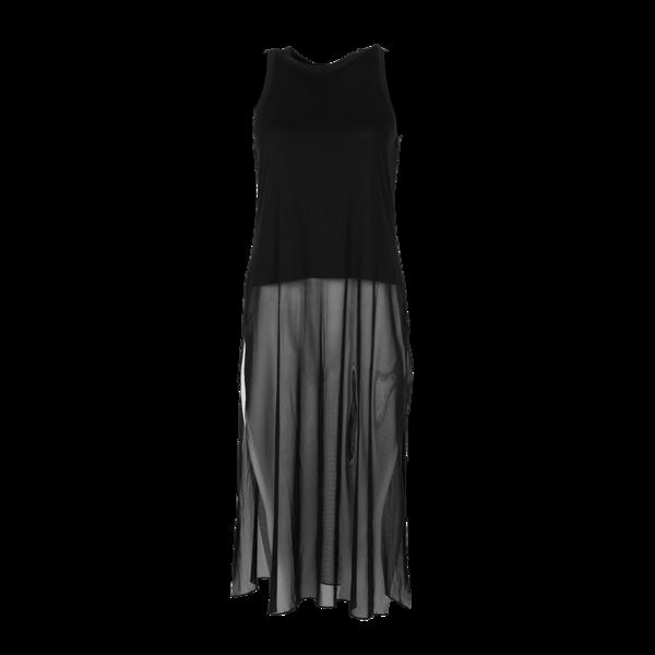 image of wholesale closeout black dress maxi