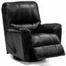 wholesale black leather recliner chair