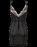 image of wholesale closeout black lingerie dres