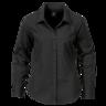 image of wholesale closeout black mens dress shirt