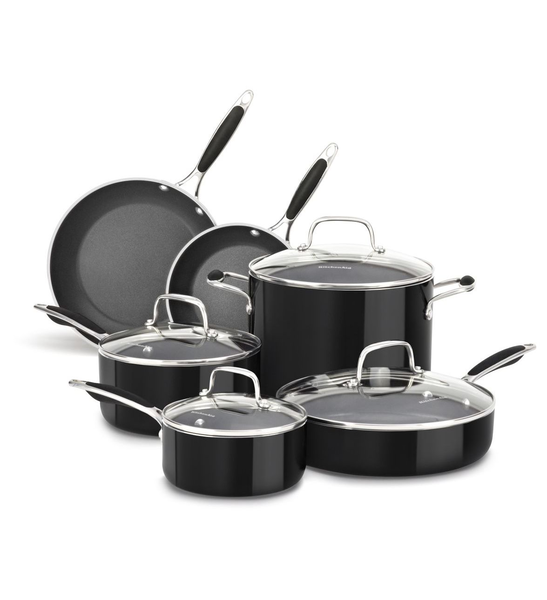 image of liquidation wholesale black pots sets