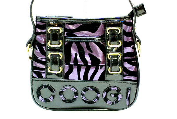 image of wholesale closeout black purple zebra print